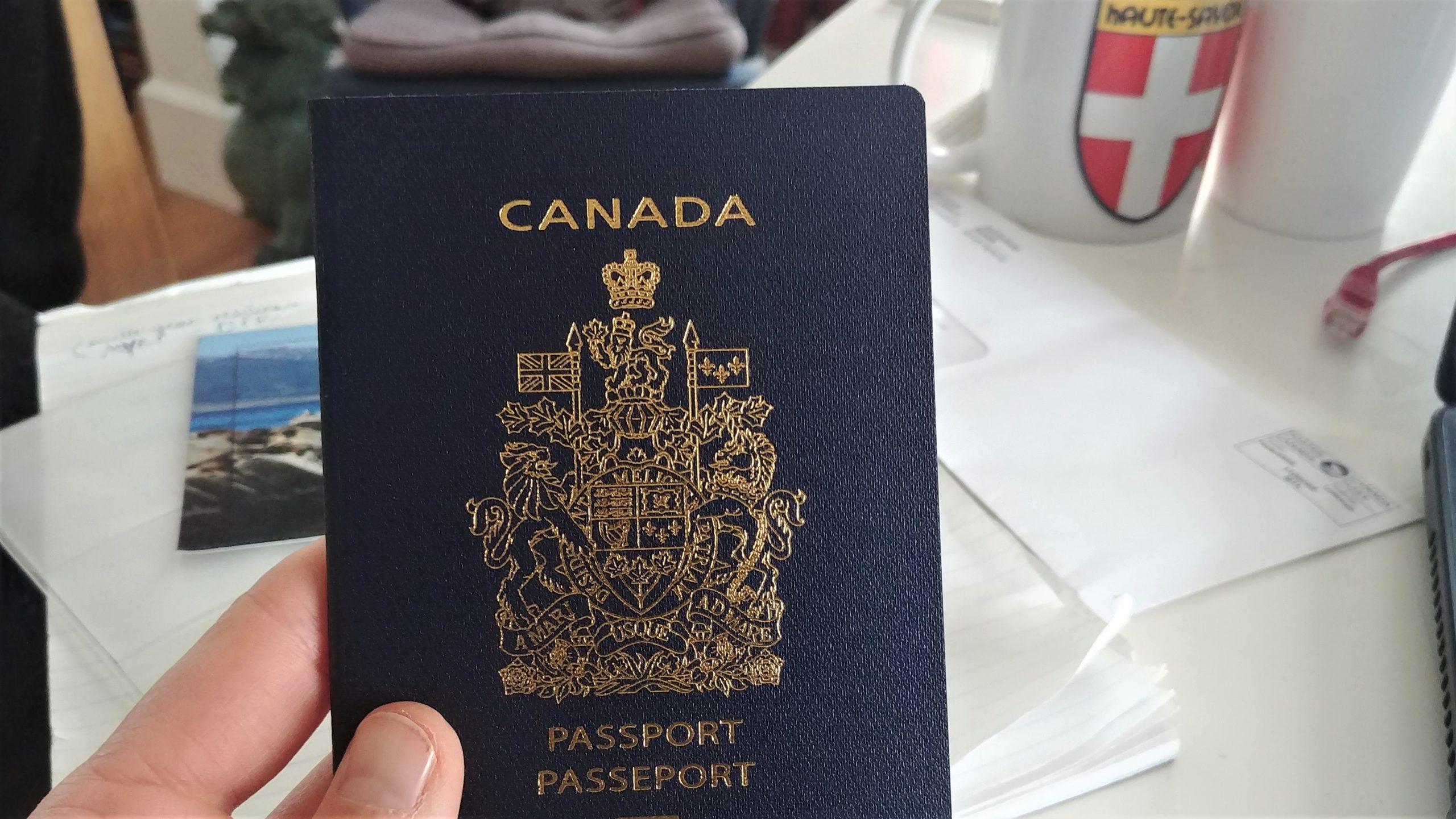 Démarches pour obtenir la citoyenneté canadienne