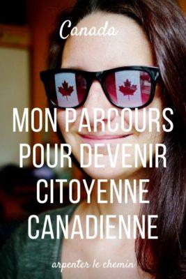 Démarches pour obtenir la nationalité canadienne
