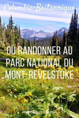 Randonnées au Mont-Revelstoke, BC, Canada