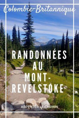 Randonnées au Mont-Revelstoke, Colombie-Britannique